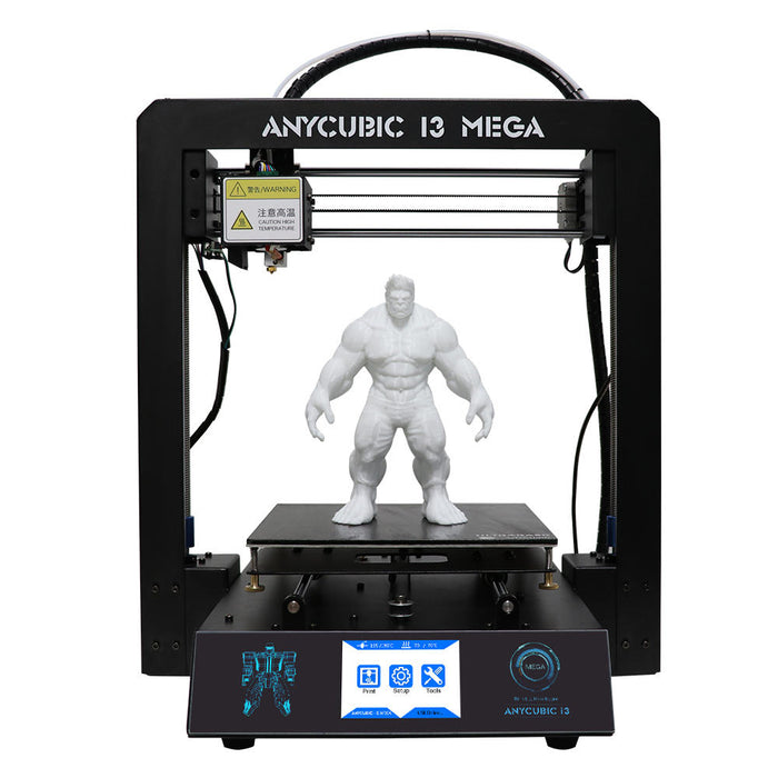 Anycubic® I3 Mega DIY 3D Printer Support Power Resume With Filament Sensor 210x210x205mm Printing Size 1.75mm 0.4mm Nozzle