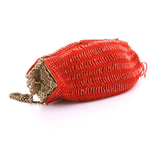 Venetian Evening bag in color Red