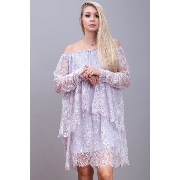 'Angel' Lace Dress