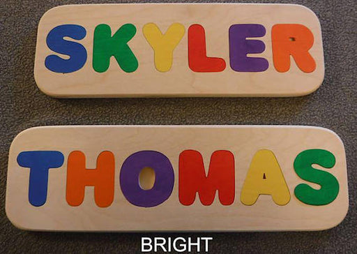 Wooden Name Puzzle - Handmade, name puzzle,  custom name puzzle, personalized puzzle,  wooden toys, wooden puzzle, puzzles for kids