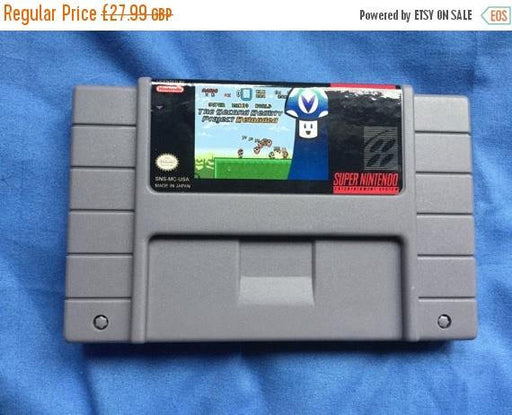 Sale on NOW Snes super nes reproduction super mario world second reality project reloaded English   ntsc usa Case cart fan made game hand ma