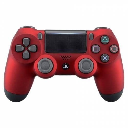 New Sony Playstation Dualshock PS4 Wireless Controller Custom Soft Touch Red