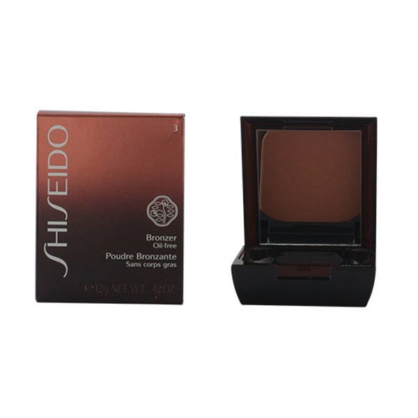 Shiseido - BRONZER oil-free powder 03 dark fonce 12 gr