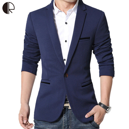 2016 Brand Clothing Blazer Masculino Men Sportsmen Wear Terno Masculino Plus Size 5XL Suit Men Blazer Designs MB047
