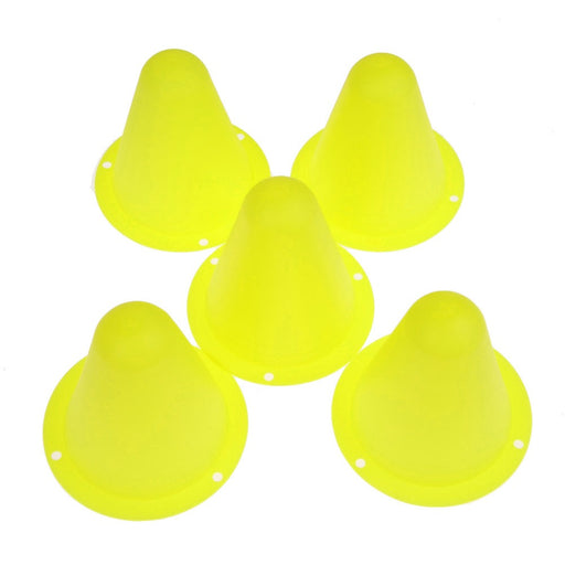 5Pcs Mark Cup Skateboard Football Soccer Rugby Speed Fitness Equipment Drill Space Marker Cones Slalom for Inline Roller Skating
