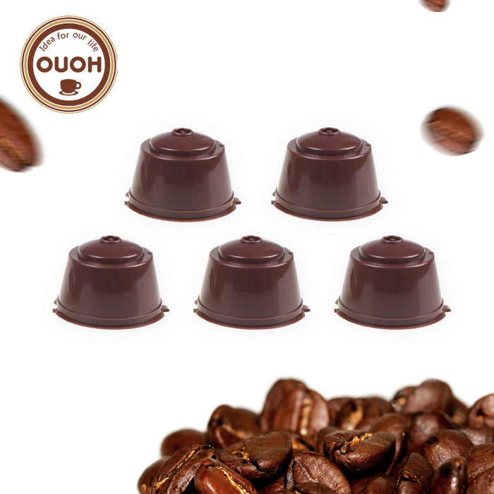 5pcs/pack use 250 times Refillable Dolce Gusto coffee Capsule nescafe dolce gusto reusable capsule dolce gusto capsules
