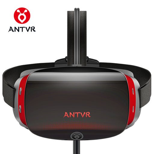 "ANTVR New Virtual Reality PC headset 3d vr Glasses 5.5""Dual OLED Screen 2K VR Helmet with X-box compatible with Steam plateform"