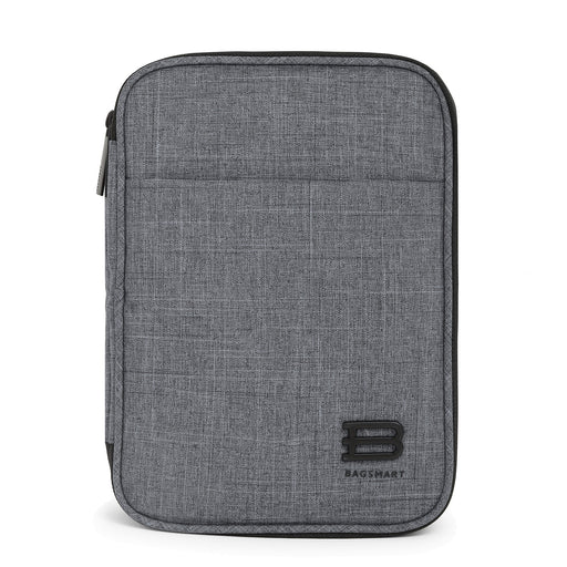 "3-layer Travel Electronics Cable Organizer Bag for 9.7"" iPad"