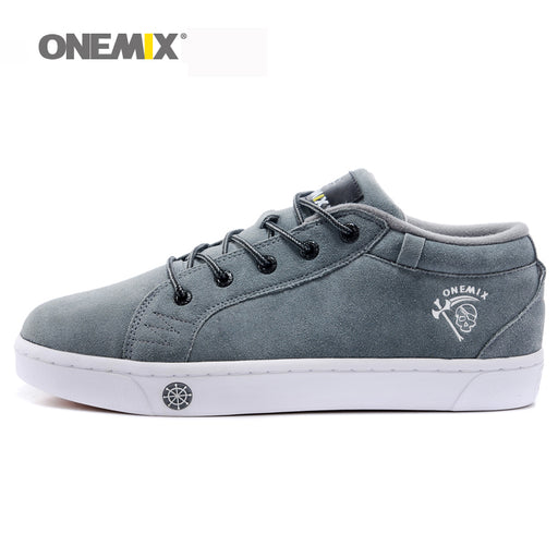 ONEMIX Men's Skateboarding shoes Athletic Shoes Breathable Walking Sport Outdoor Men Shoes outdoor walking Free Shipping EU39-45