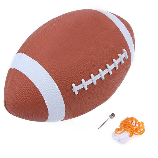 1pcs Soft Rubber AF9 American Football No. 9 Rugby Ball Soft Sport Balls for Child Kids Young Men Women Safety High Quality