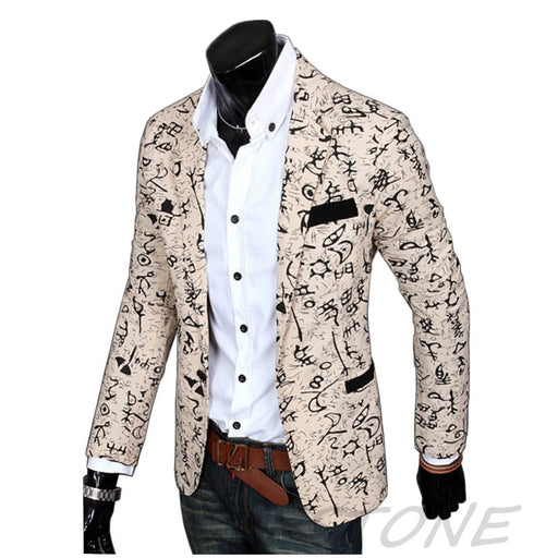 2016 Stylish Mens Casual Slim Fit three Buttons Suit Blazer Coat Jacket Outwear ZL001