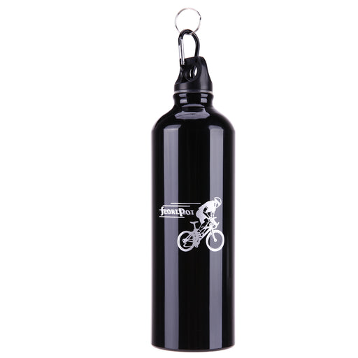750ML Stainless Steel Portable Outdoor Bike Cycling Sports Drink Jug Water Bottle Thermal Insulation Bicycle Bottle Accessories