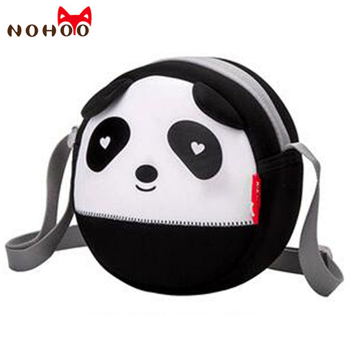 NOHOO Panda Shoulder Bags for Children Waterproof Top-handle Bags for Kids Baby High Quality Toddler Crossbody Bag Fashion Bags