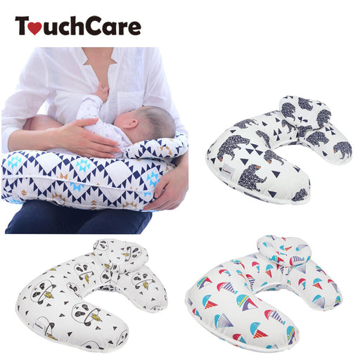 2Pcs/Set Baby Nursing Pillows Maternity Baby Breastfeeding Pillow Infant Cuddle U-Shaped Newborn Cotton Feeding Waist Cushion