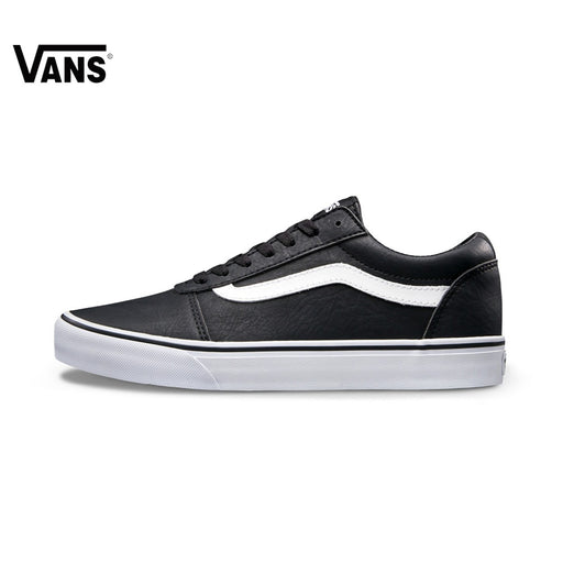 Intersport Original  Vans New Arrival Black Color Low-Top Men's Skateboarding Shoes Sport Shoes Sneakers