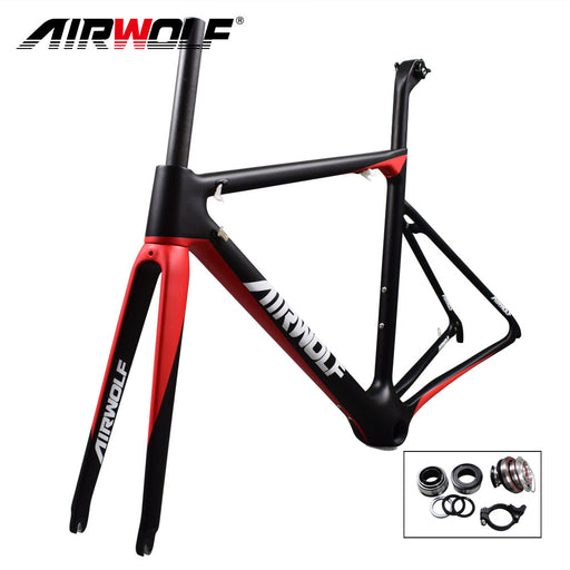 2018 T1100 carbon road bicycle frame ultralight 843g monochoque mechanical Derailleur & Di2 Cycling Racing Road Bike Frameset