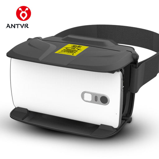 ANTVR JiTao Virtual Reality Goggles 3D Glasses VR Box with Headphone 100FOV IPD Adjustable Distortion-free for 4.5-6inch phone
