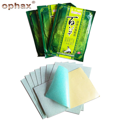 OPHAX 40pcs/5bags Chinese Herbal Joint Pain Patch Sticker Neck Back Body Massage Relaxation Pain Killer Body Relax Products New