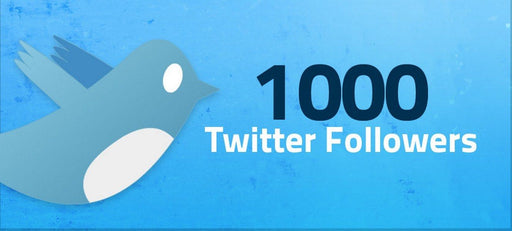 1000 Twitter-Followers | High Quality, Safe & Instant | Social Media Services