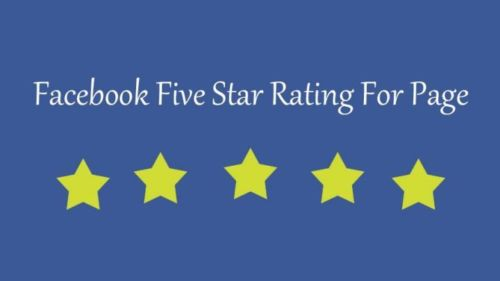 55 Facebook five 5 star rating and review on your fan page all rating from USA