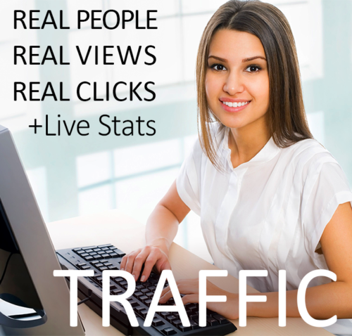 62,000 REAL VIEWS to promote your website Real Web Traffic 62K + Live Stats