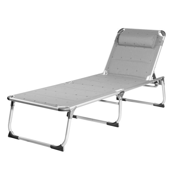 Campart Travel BE0639 Folding Deck Chair