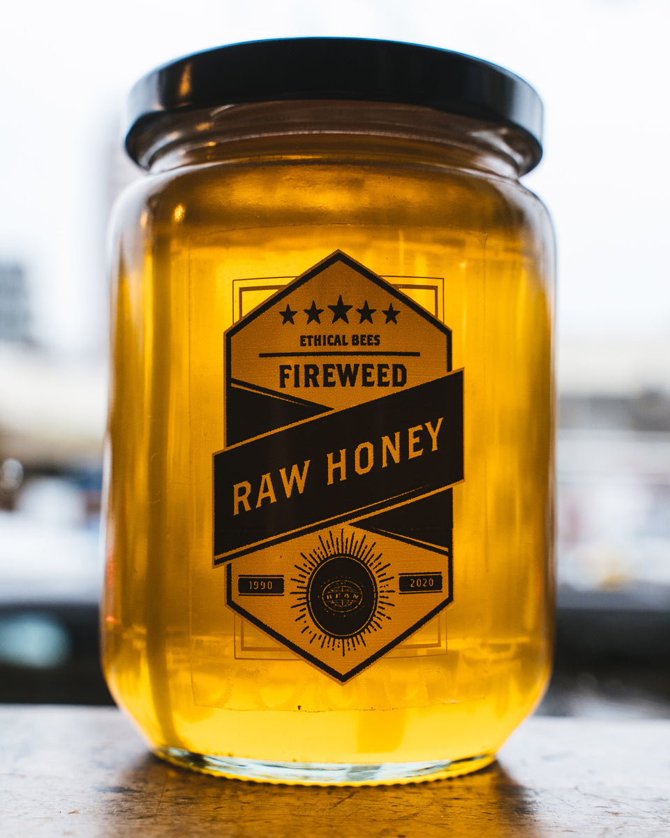 Bean X Ethical Bees Fireweed Honey