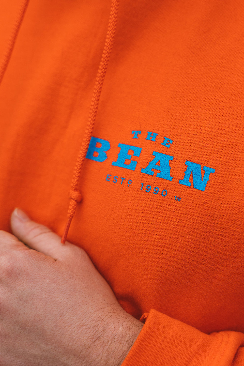 Bean 30 Year Hoodie | Orange