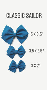 Doeskin : Classic Sailor Bow