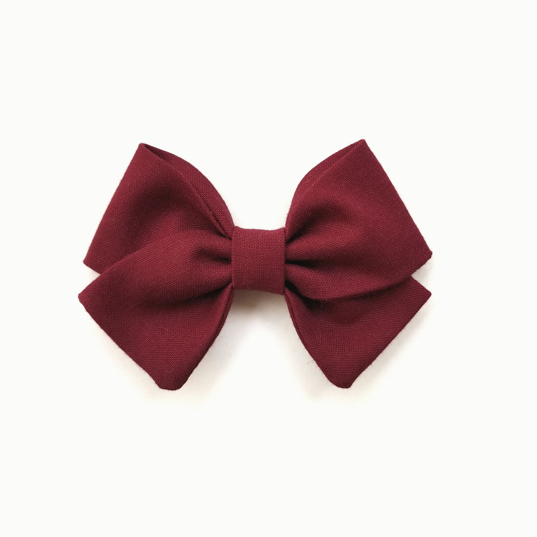 Crimson : Classic Sailor Bow