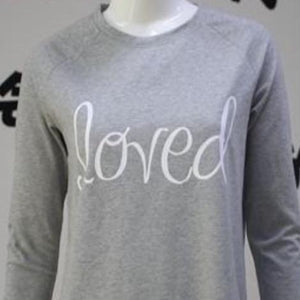 Best Grey Girlie Sweatshirt