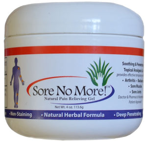 Sore No More 4oz Jar Case of 12
