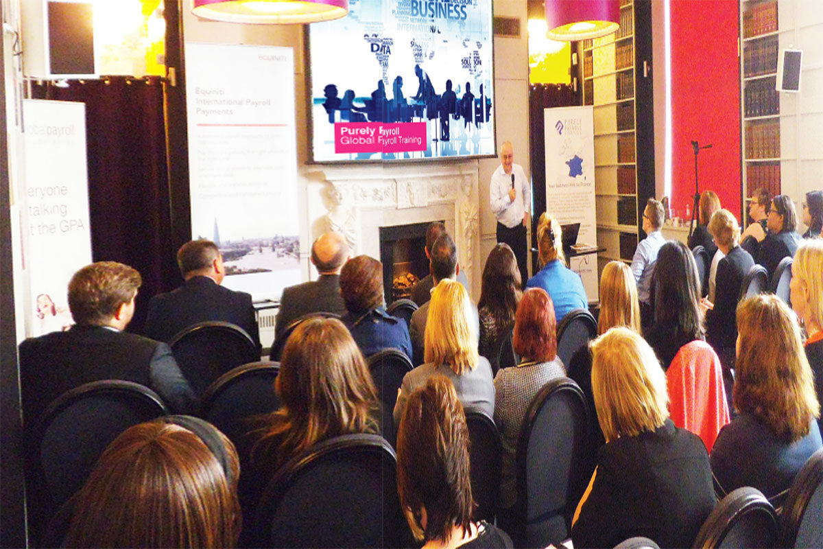 Global Payroll Association holds its first event in London