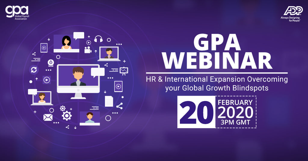 HR AND INTERNATIONAL EXPANSION:  OVERCOMING YOUR GLOBAL GROWTH BLINDSPOTS