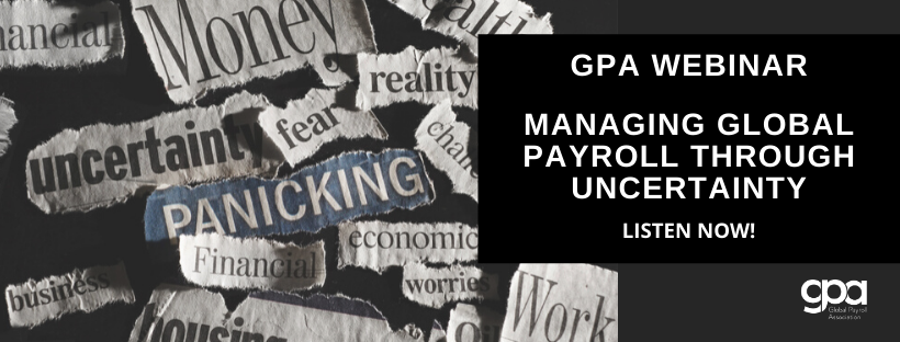 MANAGING GLOBAL PAYROLL THROUGH UNCERTAINTY