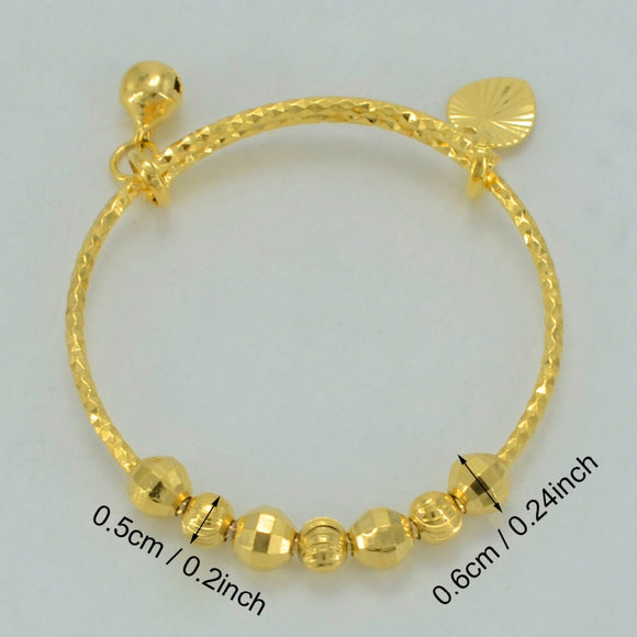gold bangles women bracelet in small for pair jewelry of set baby bangle womens