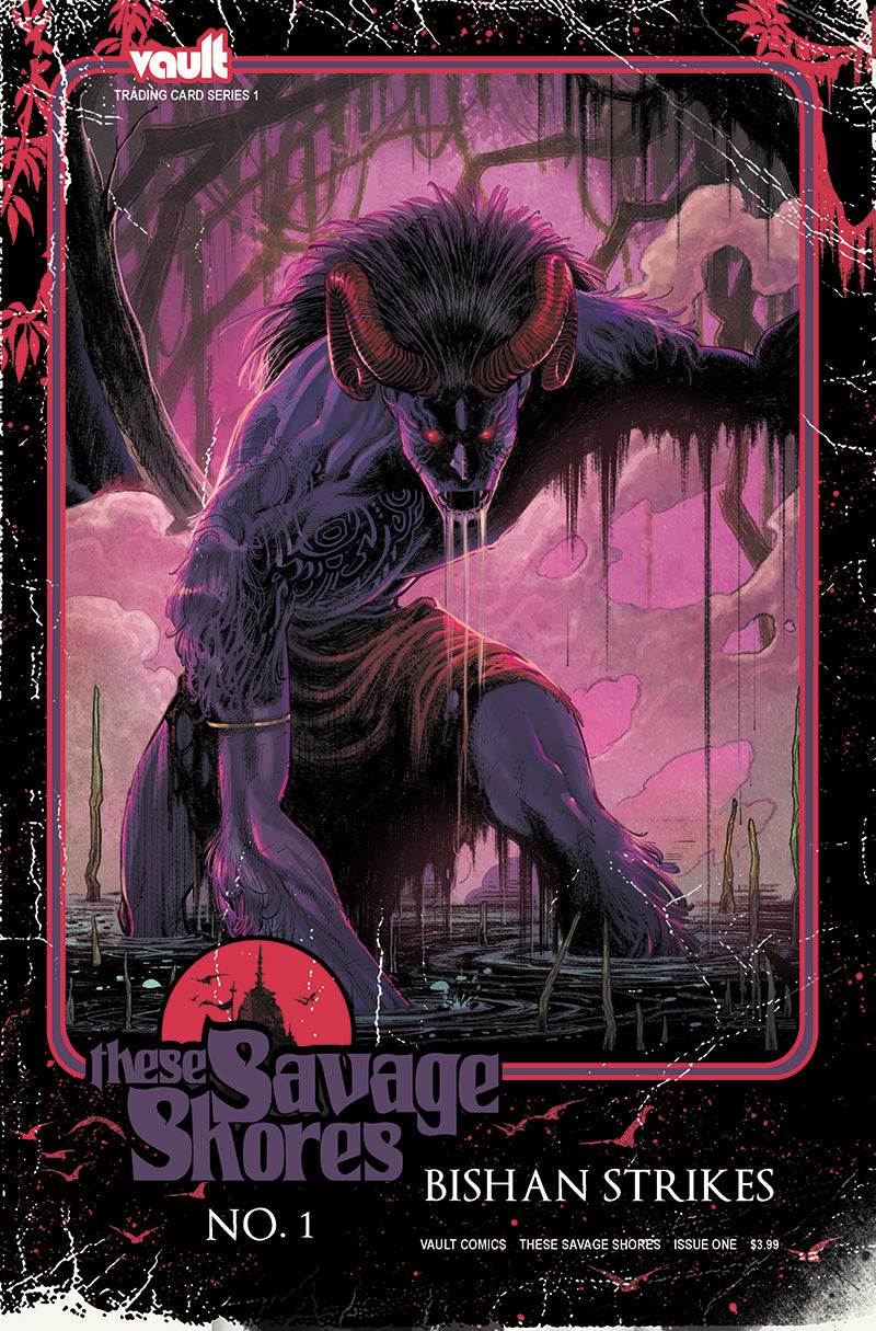 These Savage Shores Issue #1 Heavy Metal Edition