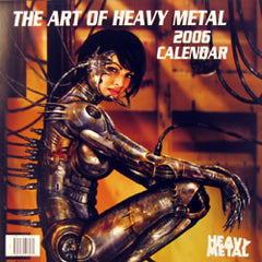 <!--- 2006 --->Calendar 2006 - Art of Heavy Metal