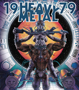 * 1979 Heavy Metal Calendar