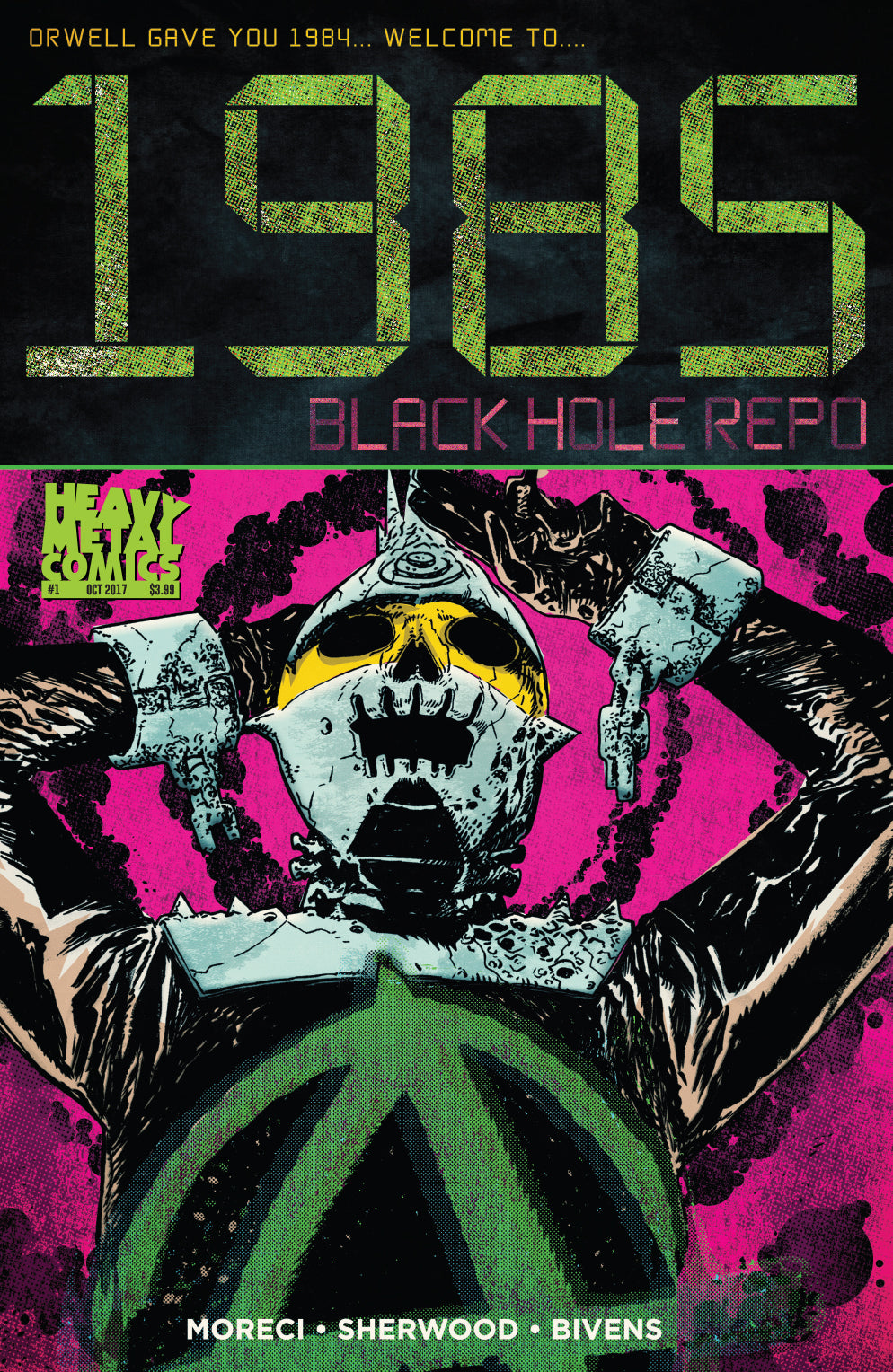 1985: Black Hole Repo #1 - Cover A