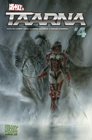 Taarna - Issue #4 - Cover A - Luis Royo