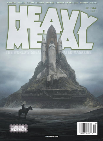 Issue #294 Cover B - Yuri Shwedoff