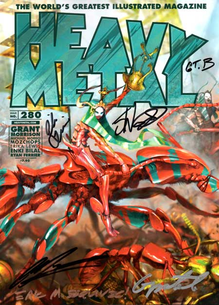 Issue #280 - Mozchops Cover - Signed B