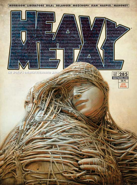 Issue #285 - Peter Gric Cover – Heavy Metal Mag