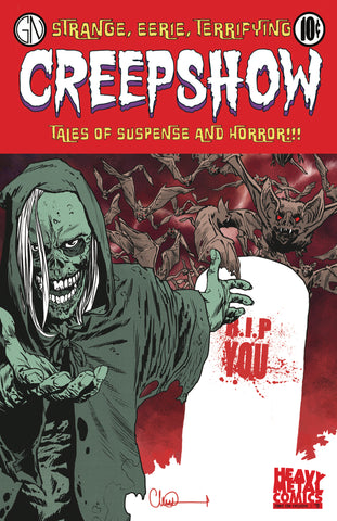 SIGNED 2019 San Diego Comic Con CREEPSHOW Comic Issue #0 (signed by Greg Nicotero)