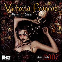 Calendar 2007 - Victoria Frances - Queen of the Night