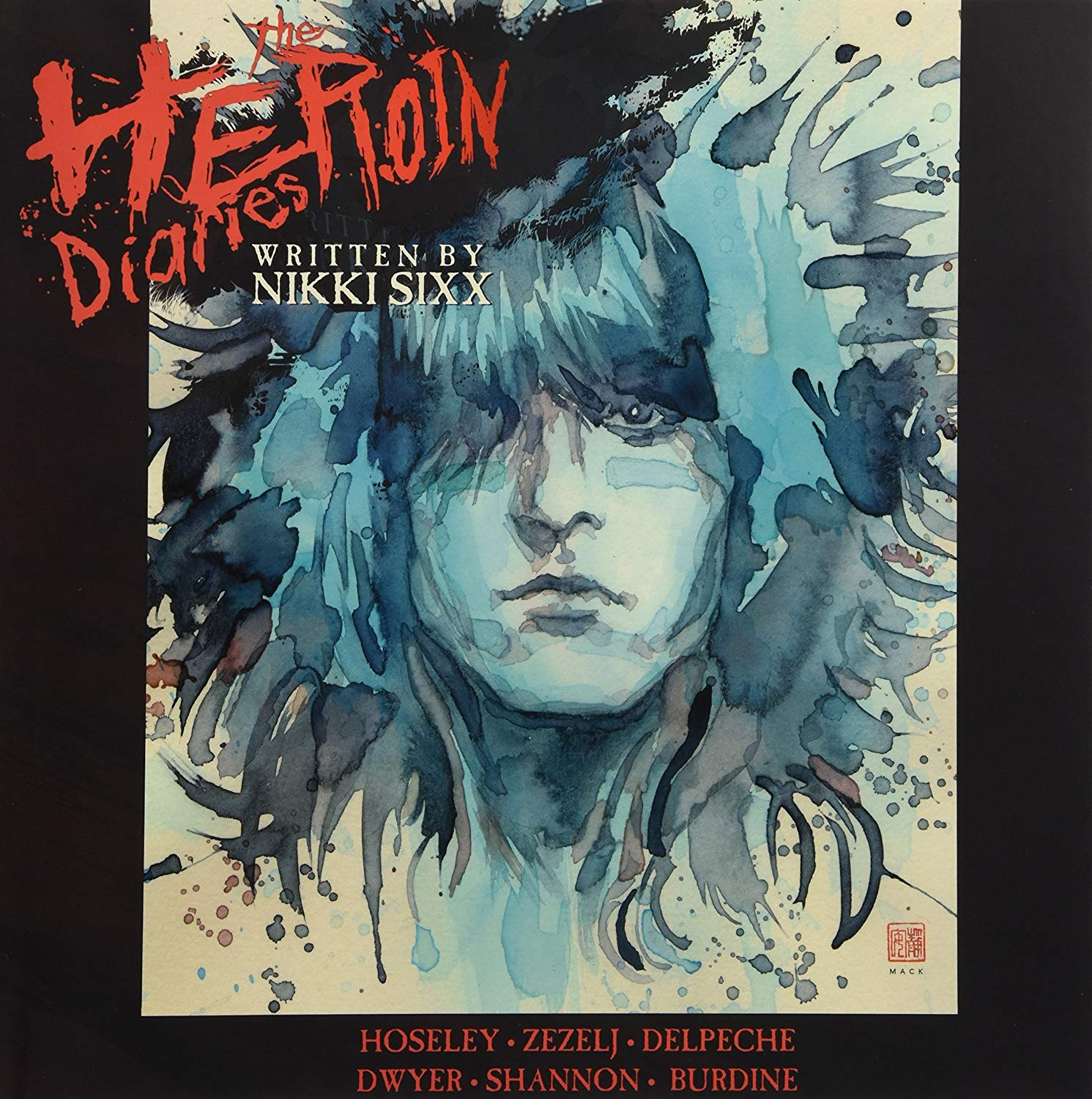 Nikki Sixx - Heroin Diaries - Black Edition