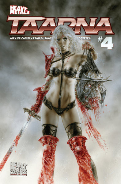 Taarna - Issue #4 - Cover B - Luis Royo - HeavyMetal.com Exclusive