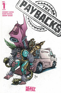The Paybacks #1 - Cover B