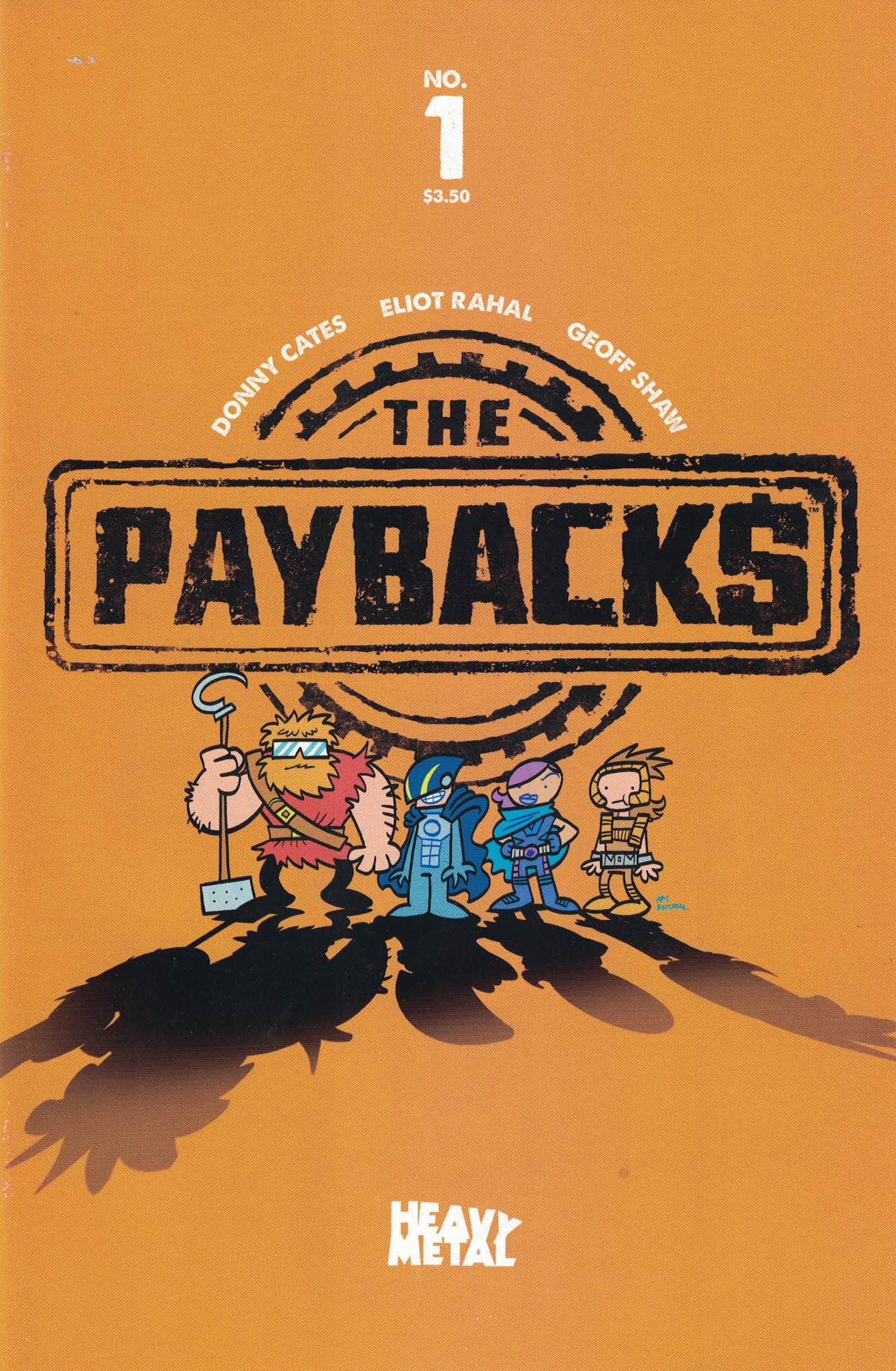 The Paybacks #1 - Cover C